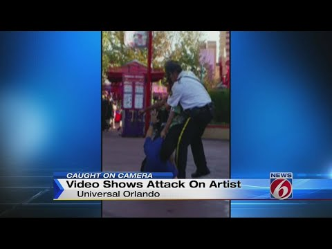 Video Shows Attack On Artist At Universal Orlando