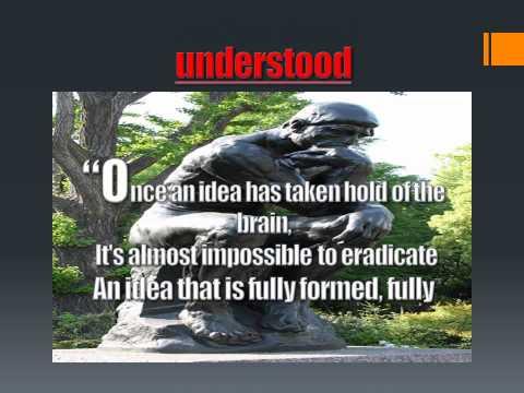 The Power of Ideas: An Idea is like a Virus