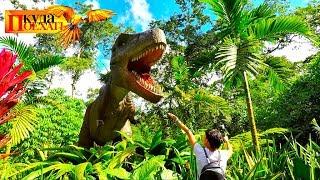ПАРК ЮРСКОГО ПЕРИОДА 2018. Динозавры в Коста Рике!!!! Снимаем свое кино! # 16