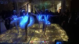 LED BALLET PERFORMANCE WEDDING DANCE INDONESIA