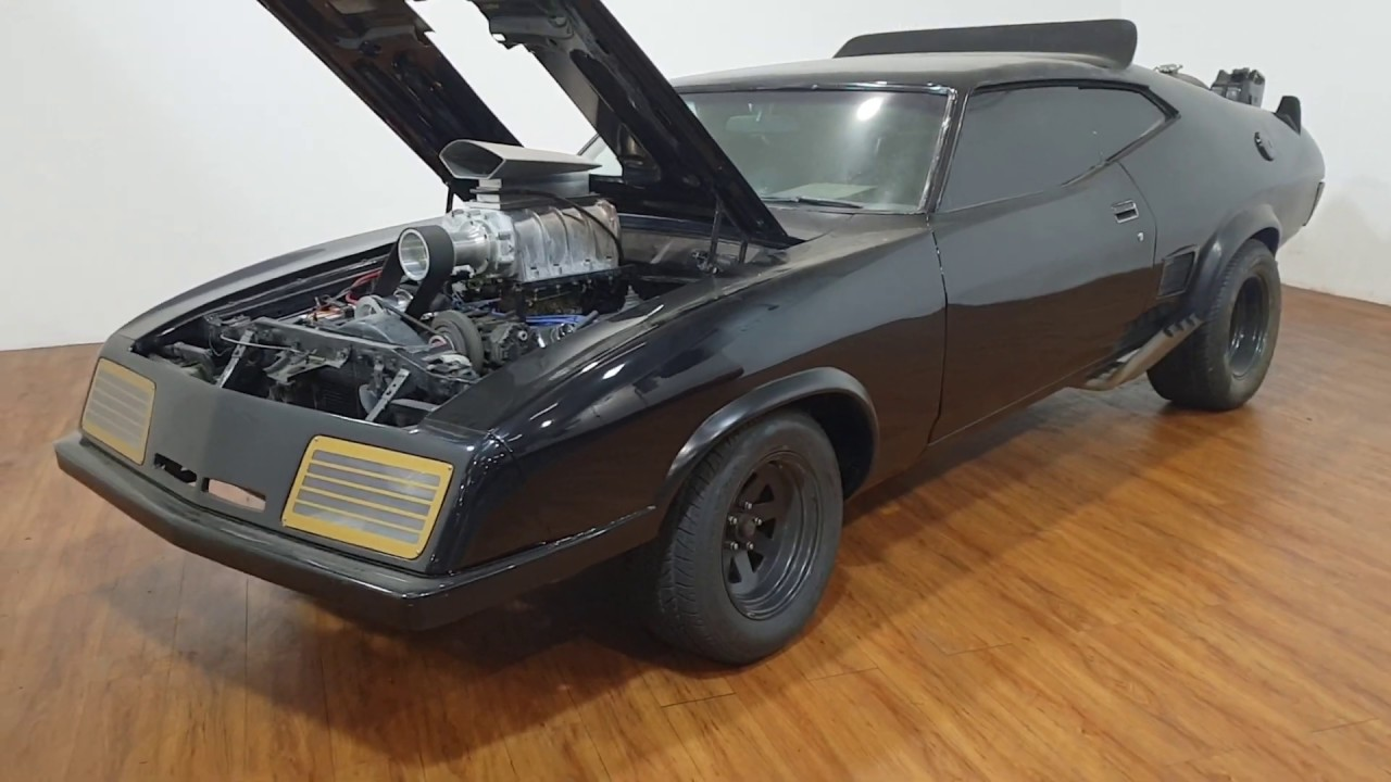Mad Max Car For Sale >> Mad Max 2 The Road Warrior Interceptor Replica Now For Sale