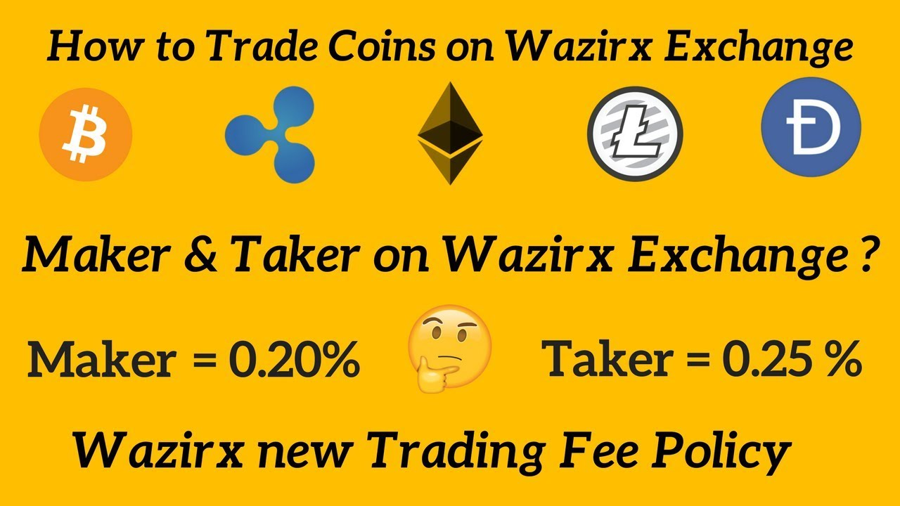 cryptocurrency maker taker