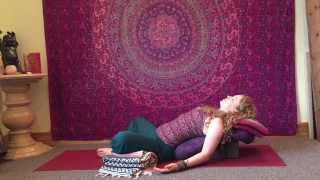 Supta Baddha Konasana with Becca Odom at Asheville Community Yoga