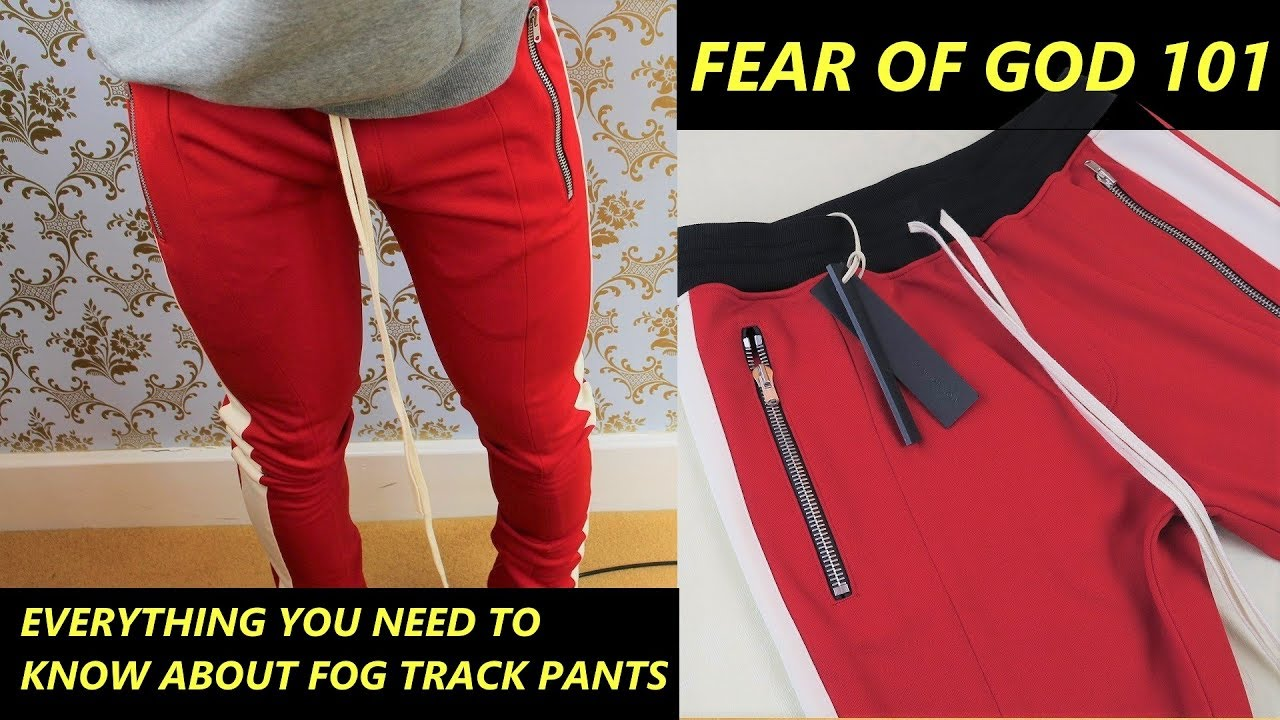 7e59a820 Fear of God 101: Full Fear of God Track Pants Unboxing & Fit Review ...