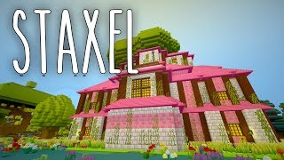 Staxel #10 | Hecke schneiden am Märchenschloss | Gameplay German Deutsch thumbnail