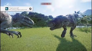 Jurassic world evolution: Battle royale