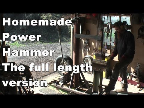 Homemade power hammer (built for next to nothing!!)