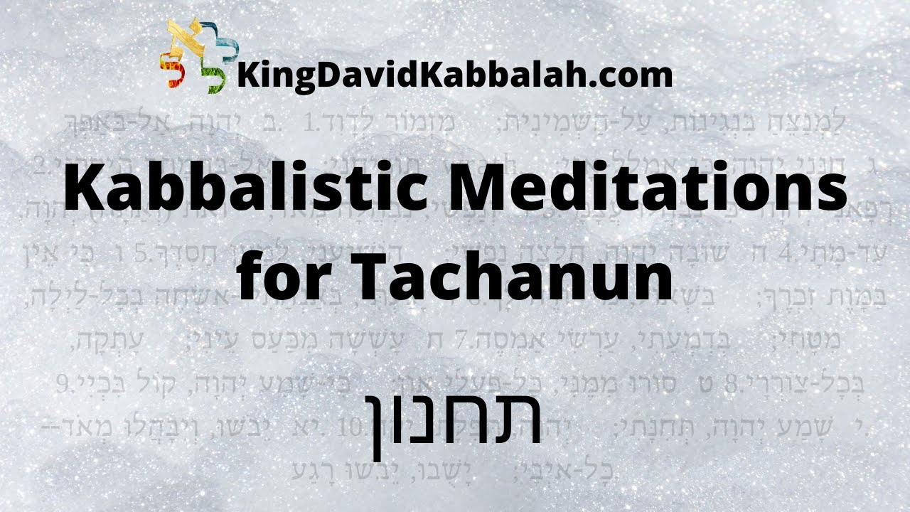 Meditate as if you are dying, Kavanot for Tachanun, Giving up the pleasures for the sake of Hashem