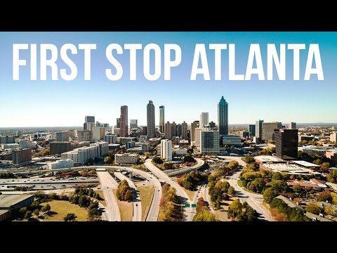 Heading To South America   First Stop Atlanta ✈  [4K]