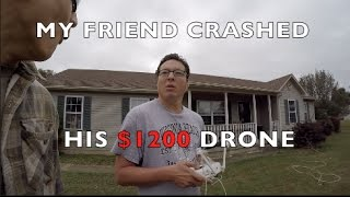 Destroyed $1200 Drone in 5 minutes