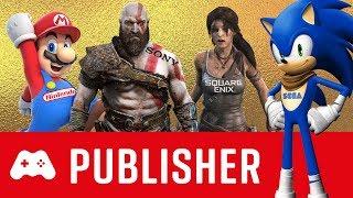 TOP 10 ► Die besten Games Publisher für PS4, Xbox One, PC & Switch