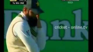 New Zealand vs Pakistan Day 3 2nd test girl entering ground.mp4