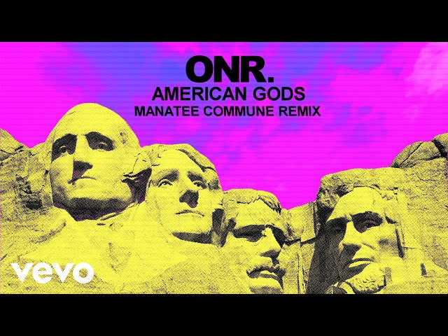ONR - AMERICAN GODS (Manatee Commune Remix/Visualizer)