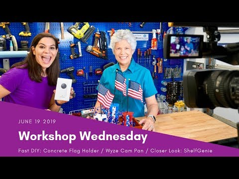 Workshop Wednesday: 4th of July DIY & More!