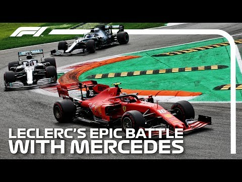 Leclerc's Epic Battle With Mercedes: 2019 Italian Grand Prix