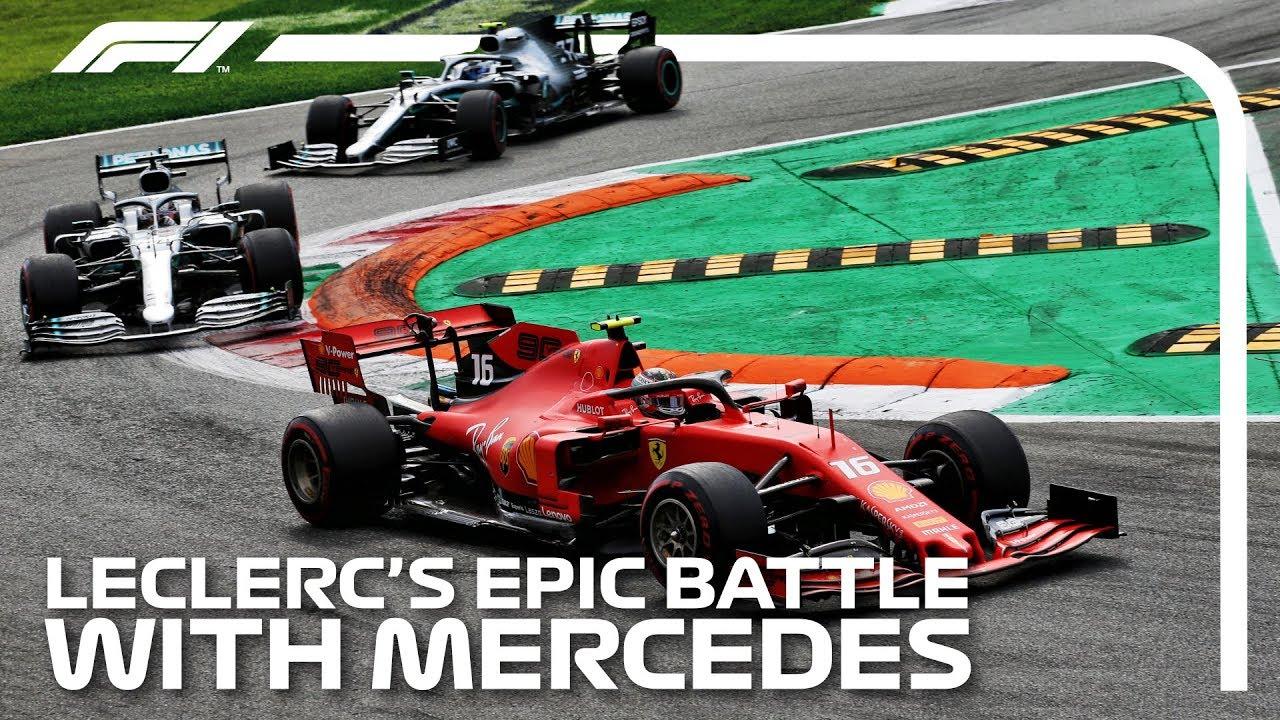 Download Leclerc's Epic Battle With Mercedes: 2019 Italian Grand Prix
