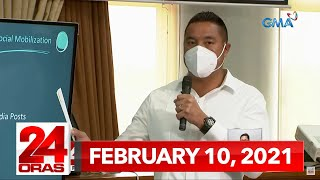 24 Oras Express: February 10, 2021 [HD]