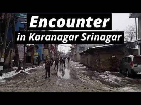 Encounter In Karanagar Srinagar