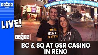 🔴 Brian & Slot Queen GAMBLE 💰💰 @ GSR in Reno ✪ BCSlots
