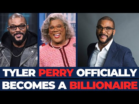 Tyler Perry Becomes Is The Latest Black Billionaire