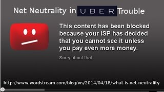 Net Neutrality in Uber Trouble - Weekly News Roundup