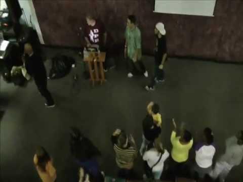 Rapper David Paul Brooks DPB Performs at TLC