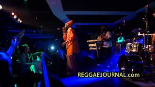 Capleton - Wha Dis / Hit Maker / Cooyah Cooyah 2014-10-11. Club Empire, Rotterdam, NL. Prophecy band
