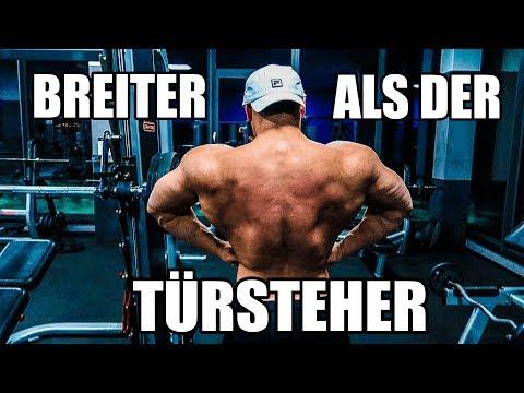 SO WIRST DU BREITER ALS 2 TÜRSTEHER   Krasser Rücken MASSAKER