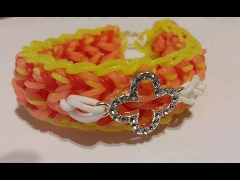 Dewdrop rainbow Loom Bracelet * NEW ^