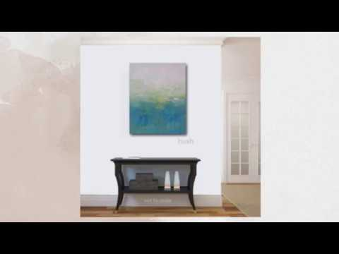 HUSH Impressionistic Landscape Art Painting KR Moehr – Quick View – Gallery Wall Hanging
