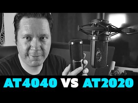 condenser mics comparison ; at4050,c414,km184,at4040   Doovi