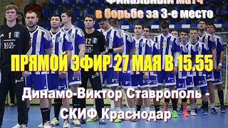 Гандбол. СКИФ Краснодар - Динамо-Виктор Ставрополь 27.05.2017
