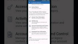 How to deactivate your Facebook account by hegou.
