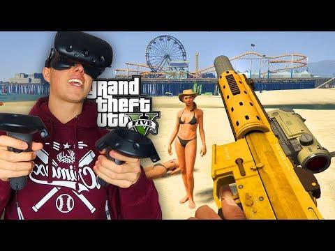 GTA 5 in VR Spielen !