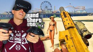 GTA 5 in VR Spielen !  😱