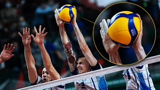 The Most Powerful Volleyball Blocks that shocked the Volleyball World!!!