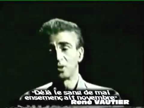 Kateb Yacine sur Albert Camus et l'Algérie