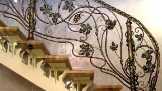 Перила 97  Лестничные ограждения в Днепре фото ограждение лестницы кованое Днепропетровск(посмотреть Лестничные ограждения в Днепре фото ограждение лестницы кованое Днепропетровск здесь - http://kovka-d..., 2016-11-14T11:15:56.000Z)