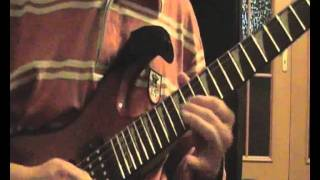 Swashbuckle - Cruise Ship Terror - Guitar Solo (Cover)