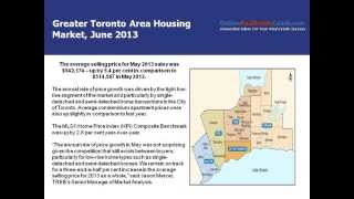 Toronto Real Estate Home Market. May 2013, Canada
