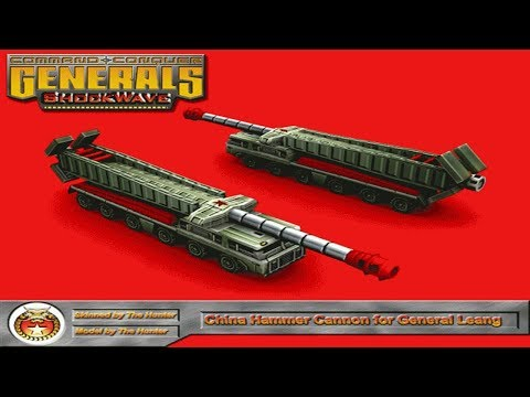 Command And Conquer Shockwave Mod / China Special Weapons General / Superior Firepower