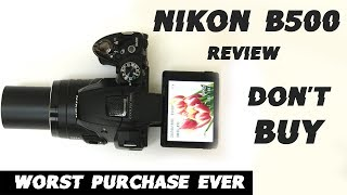Review Nikon Coolpix B500 - digital camera Specs amp Prices Beginner zoom camera Point amp shoot