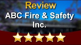 ABC Fire & Safety Inc Kenilworth Wonderful Five Star Review by Nunzio S.