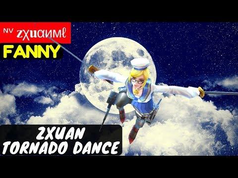 Zxuan Tornado Dance [Zxuan Fanny]   ᶰᵛ zχuαимℓ Fanny Gameplay Mobile Legends