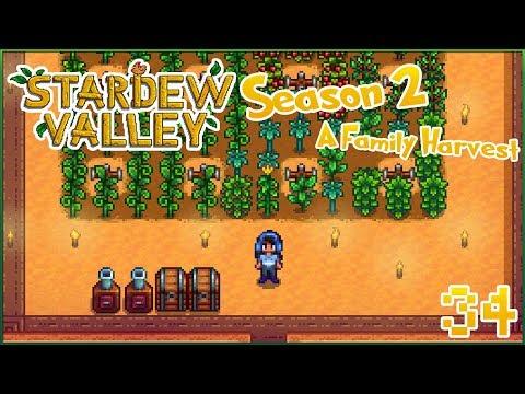Let the Tea-Leaf Takeover Begin!! 🍂 Stardew Valley - Episode #34 Season 2