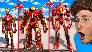 Upgrading IRON MAN Into IRON GOD In GTA 5.. (Mods)