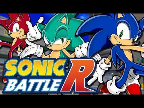 Sonic Battle R - 20+ Online Multiplayer Sonic Game!