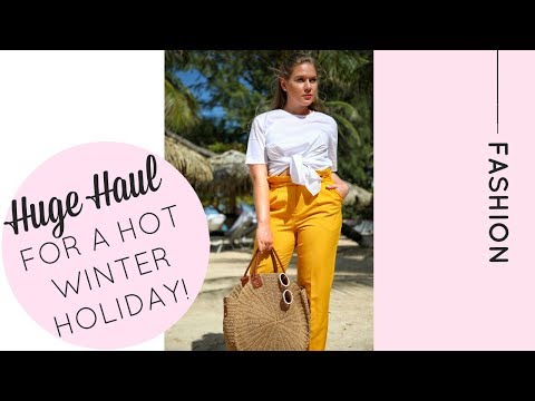 Hot Winter Holiday Haul & Try On ft ASOS, River Island, Next and more! | Katie KALANCHOE