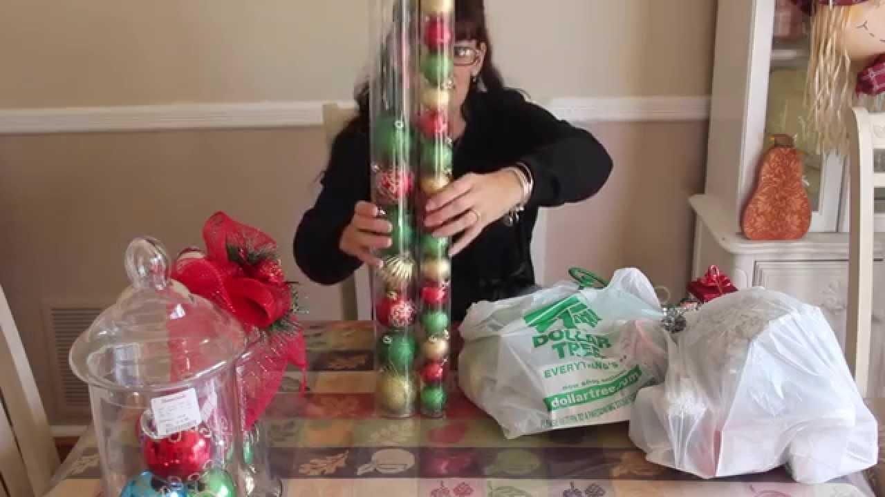 Youtube Christmas Craft Ideas Part - 48: ??Dollar Tree Haul And Cheap Christmas Craft?? - YouTube