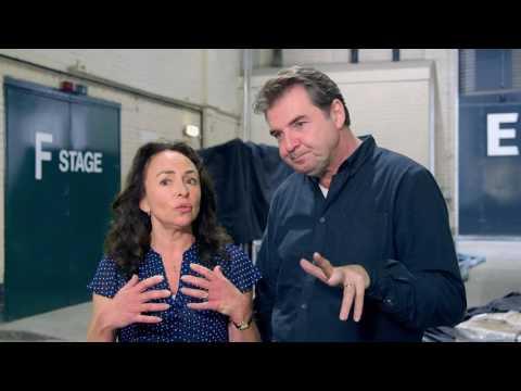 "Me Before You: Brendan Coyle & Samantha Spiro ""Bernard Clark & Josie Clark"" Interview"